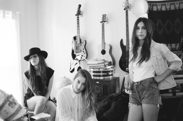 photo of the band haim